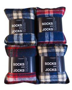 Check M8te Socks/Jocks