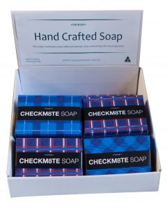 Check M8te Soap Display x 12
