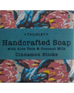 Gondwana Soap with a blend of Aloe Vera, Coconut Milk and Cinnamon Sticks